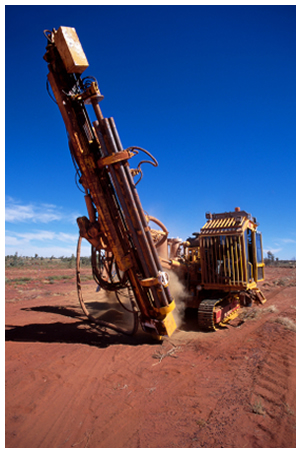 Photo of Exploration Drill Rig